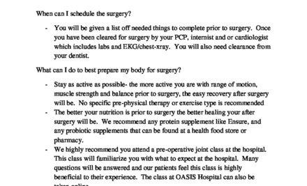 Hip Replacement Surgery Success – A Patient Story